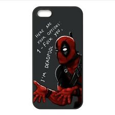 Custom Superhero Deadpool YOUR OPTIONS Phone Case Cover for Iphone 4 4S 5 5S 5C