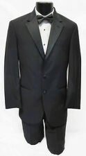 Brand New Black Calvin Klein 2 Button Tuxedo Package Wedding Prom Formal 58L