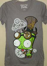 Zim & Gir Gray (Zim & Gir Dressed as Cool Steampunk) T-shirt