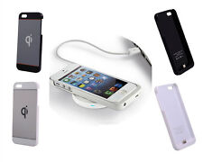 Qi Wireless Power Charging Charger Case Receiver Protector for iPhone 5 5S CA