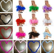 GOUS NW Feather Boa Fluffy Flower Craft Costume Dressup Wedding Party Home Decor