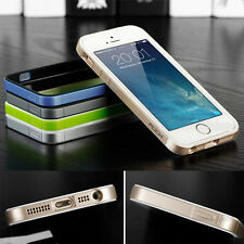 Luxury Shock Dust proof TPU Bumper Frame Skin Case Cover Perfect for iPhone 5 5s
