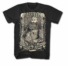 Mastodon Beard Rasputin Logo Cd Music Rock Metal Mens T Tee Shirt Size S-2Xl