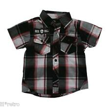 Boys Dickies Rock Check Shirt Clothes Skater Punk (Size 12, 18, 24 mths) – NEW