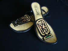 Ancient Egyptian Flip Flop Isis King Tut Cleopatra Halloween Shoes Belly Dance