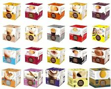 Nescafe Dolce Gusto Tea & Coffee Pods *Boxed + Sealed* + Free Biscuit Samples