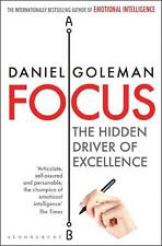 NEW Focus by Daniel Goleman Paperback Book Free Shipping