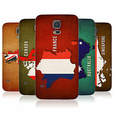 HEAD CASE FLAG MAPS REPLACEMENT BATTERY BACK COVER FOR SAMSUNG GALAXY S5