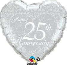 Anniversary balloons - silver, ruby, gold and diamond (25, 40, 50, 60 years)