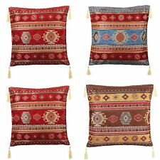 Turkish Ottoman Kilim Patterned Pillow Cover, Anatolian Traditional Pillow Cases