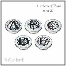 Kameleon Mother of Pearl Jewelpop LETTERS