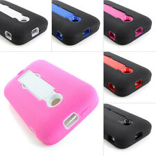 For Huawei Inspira H867G Glory H868c Impact Case Silicone Cover Armor Stand+Film