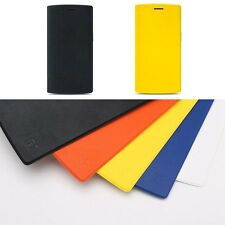 100% Original Flip PU Leather Case Cover For Oneplus One A0001 Genuine