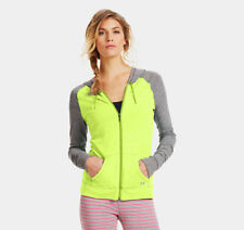 Under Armour Women's $49 UA UNDENIABLE Charged Cotton Hoodie Sweatshirt 1243124
