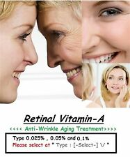 1 Pack of RETINOL A 0.025%, 0.05% & 0.1% Intensive Anti Wrinkle Aging Treatment