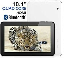 "10.1"" Quad Dual Core Google Android 4.4 KitKat Tablet PC 16GB Bluetooth HDMI 10"
