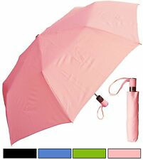 "Lot: 48 pcs of Rainstoppers 42"" Fashion Mini Auto-Open Umbrella-Free Shipping"