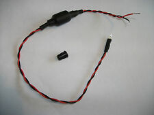 FLASHING RED LED 12V (3mm) . CHOOSE YOUR FLASH INTERVAL