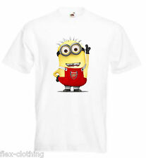 Despicable Me Minions Football Team Joke Funny Printed T-Shirt UNISEX Brand New