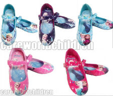 New Frozen Elsa Princess Cosplay  Girls Kids Baby Shoes Size 7 8 9 10 11 12 13