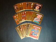 Garbage Pail Kids ANS2 All New Series 2 Gold Foil Cards You Pick GPK #F8a-F14b