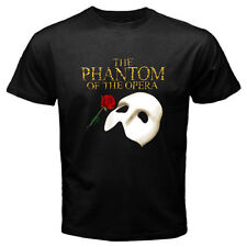 The Phantom of The Opera Broadway Show Musical Men's Black T-shirt Size S to 3XL