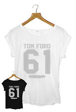 TOM FORD 61 MOLLY WOMEN'S BLACK/WHITE T-SHIRT SIZE S-L TOM FORD JAY-Z BEYONCE