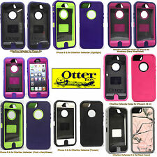 Original Apple iPhone 5 5s OtterBox Defender Series Case New Purple Blue Pink