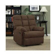 Recliner Lounge Chair Plush Wall Hugger Furniture Overstuffed Recline Chaise