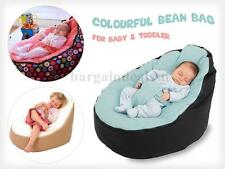 Baby Bean Bag Portable Chair/Bed, Nursery for Infants Toddlers/Kids Unfilled!
