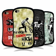 HEAD CASE DESIGNS CHRISTIAN RIDER HYBRID TPU BACK CASE FOR APPLE iPHONE 4S