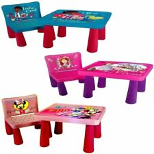DISNEY SIT AND COLOUR DRAWING COLOURING ART DESK TABLE CHAIR PLAY SET XMAS GIFT