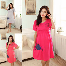 Summer Pregnant Maternity Dresses Casual Pregnancy Clothes For Pregnant Women