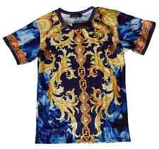 Brand New Authentic Versace T-Shirt With Gold Medusa Baroque Elements M,L,XL,XXL