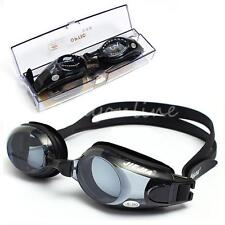 Multi SZ -1.50 TO -8.00 Swimming Prescription Myopia Nearsighted Goggles Glasses