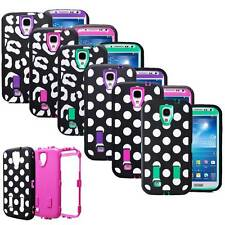 Heavy Duty Rugged Armor Box Case Cover w/ Built in Screen For Samsung Galaxy S4