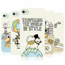 HEAD CASE WORLD TRAVELLERS TPU GEL BACK CASE COVER FOR APPLE iPHONE 4