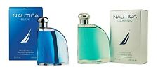 NAUTICA CLASSIC OR BLUE FOR MEN 3.4 OZ 100 ML EDT SPRAY NIB SEALED