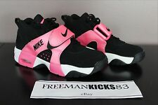 New Nike Air Veer GS Youth Football Shoes Rare! 5.5Y-7Y Pink/Black