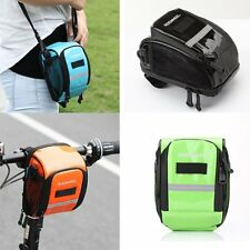 Waterproof Bicycle Bike Cycling Front Frame Tube Handlebar Pannier Pouch Bag