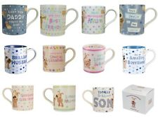 BOOFLE MUGS - MALE / FEMALE RELATION MUGS -MUM DAD GRANDMA GRANDAD FRIENDS +MORE