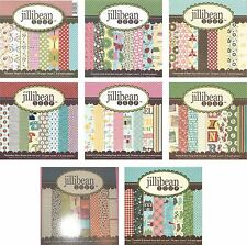 "6"" x 6"" Cardstock Paper Pad Scrapbook Crafts Cards jillibean Soup - Choose"