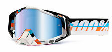 NEW 100% RACECRAFT MX DIRT BIKE OFFROAD ADULT GOGGLES MAX MARTINI / MIRROR BLUE