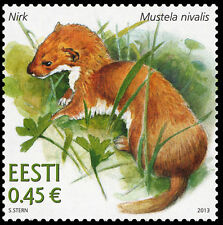Stamps of ESTONIA ESTLAND ESTONIE 2003 - 2014 - Wild animals in Estonia