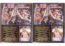 Phoenix Mercury 2014 WNBA Champions Diana Taurasi MVP Photo Plaque