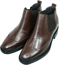 Elevator shoes height increase increasing formal dress mens 3 taller brown boots