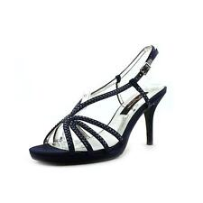 Nina Bobbie Womens Textile Dress Sandals Shoes Used