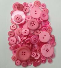 Top Quality LIGHT PINK  Buttons / Plastic Buttons / Assorted Buttons