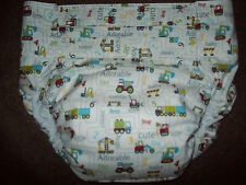 Dependeco All In One cloth adult baby diaper S/M/L/XL  ( construction zone )