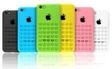 Hot Sale TPU Silicone Hard Rubber Back Holes Case Cover Skin For Apple iPhone 5C